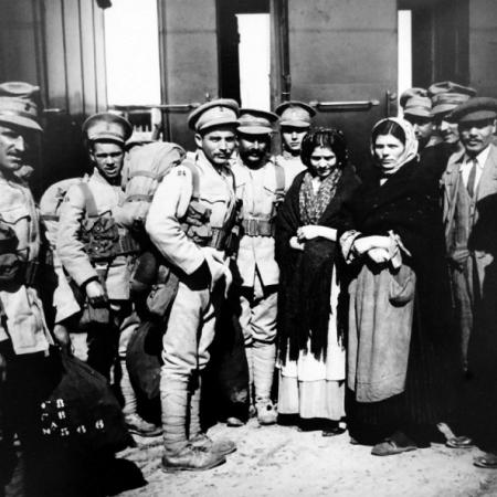 Les Portugais dans la Grande Guerre, Oloron
