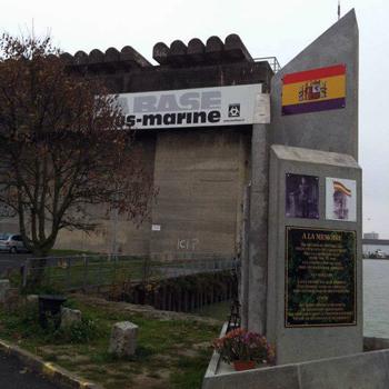 Mémorial pour les Républicains Espagnols de la Base Sous-Marine